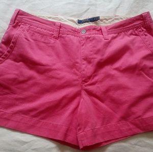 Pink Polo Shorts
